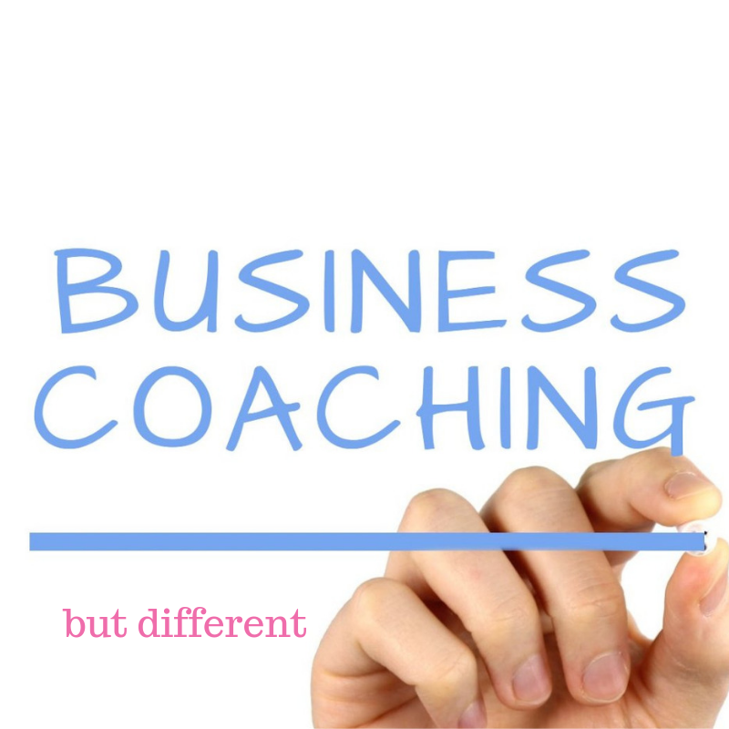 Business coaching, but different
