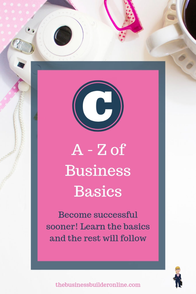 Image with text overlay A _ Z of Business Basics