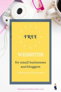 Do you work from home and need a great website? Find out how to get one for free, or even better, how to get a professional one created for you in just one day for a super tiny amount