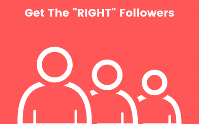 """How To Get the """"Right"""" Followers – and why you need them."""
