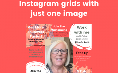 How To Create Instagram Grids with One Image